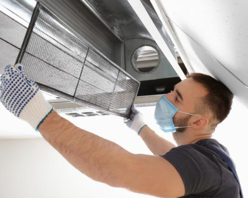 Heating and Air Spartanburg SC -air duct replacement 3